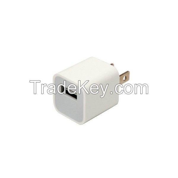 Original iphone 5W 2 flat pins US USB power adapter