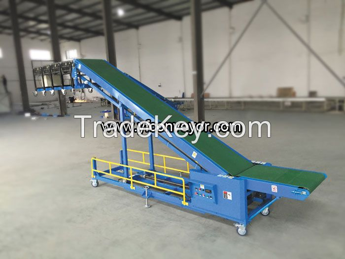 Automatic Truck, Container, Trailer, Van, Vehicle Loading and Unloading Conveyors
