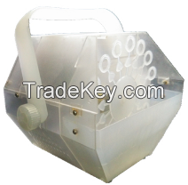 Newest Transparent Material 60W LED Bubble Machine With 2*3W LED