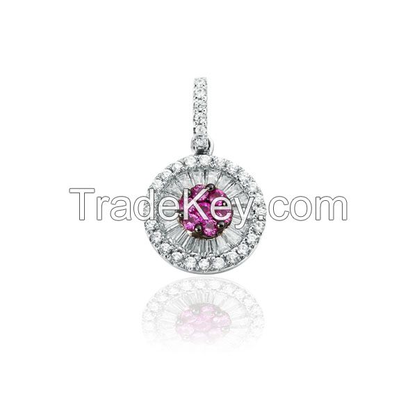 Wholesale Beautiful 925 Sterling Silver Cubic Zirconia Jewelry Sets