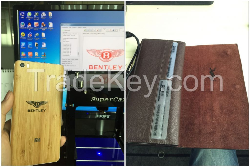 SuperCarver 500mw diy laser engraving machine