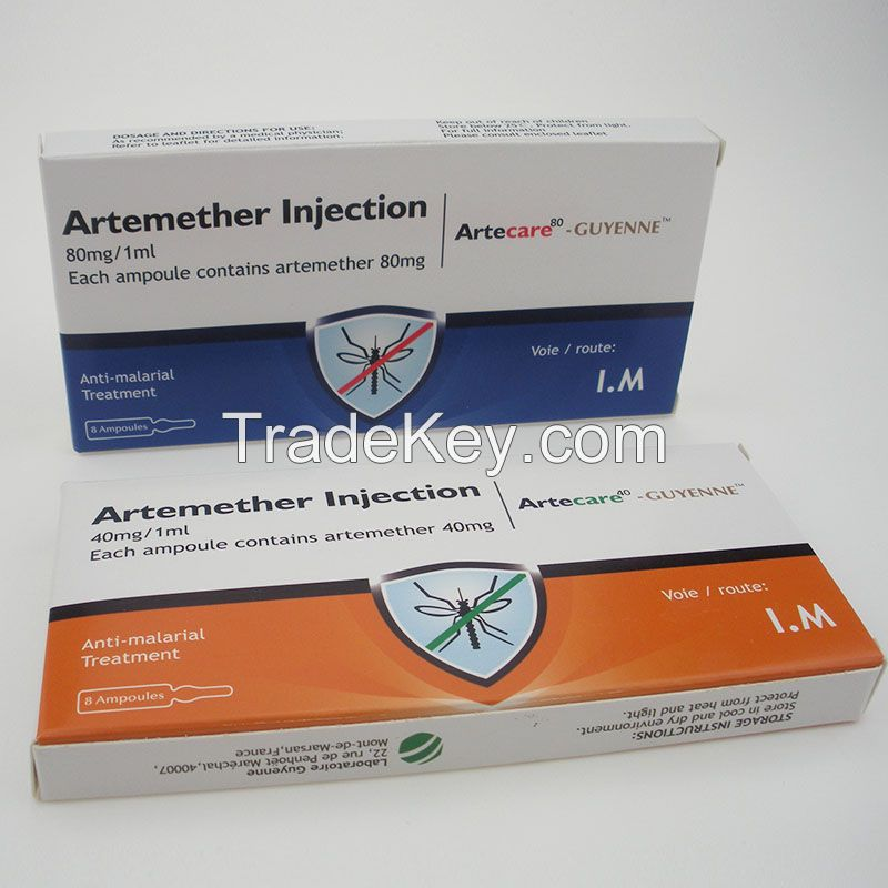 Curative Medicine Aretemether Injection for Antimalarial