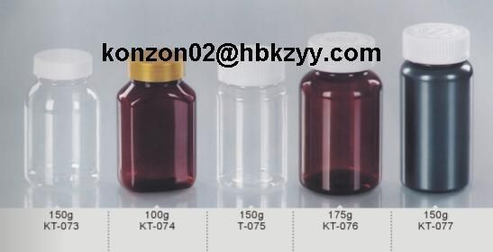 PET plastic bottles for health care products solid medicines pharmaceutical capsule tablet pills