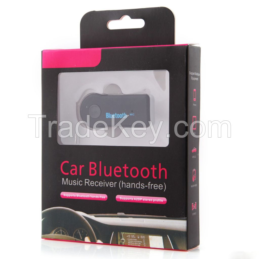 Car/Home Bluetooth Music Receiver, Car Bluetooth Hand Free Kit witt Bluetooth 4.0