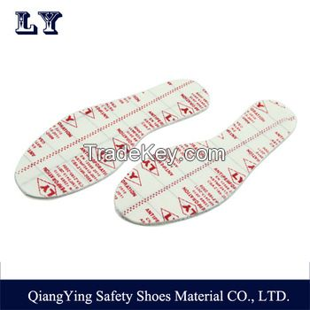 Non-Metal Anti Static Anti-Penetration Kevlar Fabric Insole For Safety Shoes