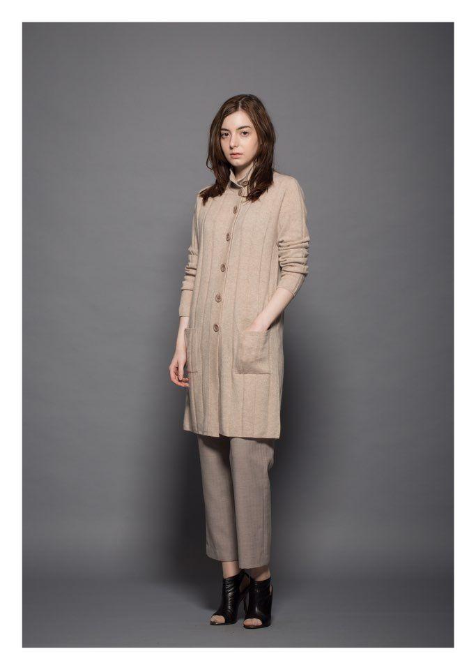 Women cashmere coats