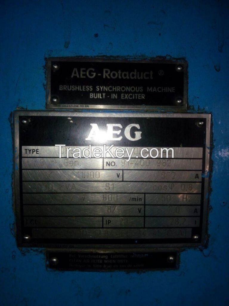 MAC 5,000 kw HFO Generator Set.