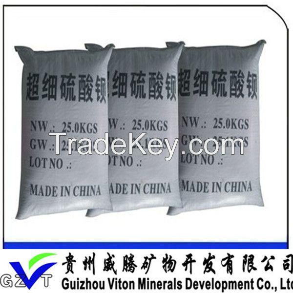 high whiteness and barium content  Barium Sulfate