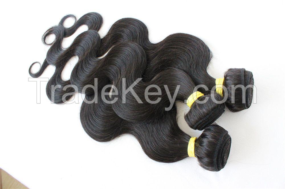hot 8A Brazilian Hair Human Hair Weave Virgin Brazilian Hair Bundles Unprocessed Body Wave Hair