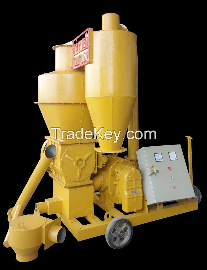 grain cereals crusher vacuum machine