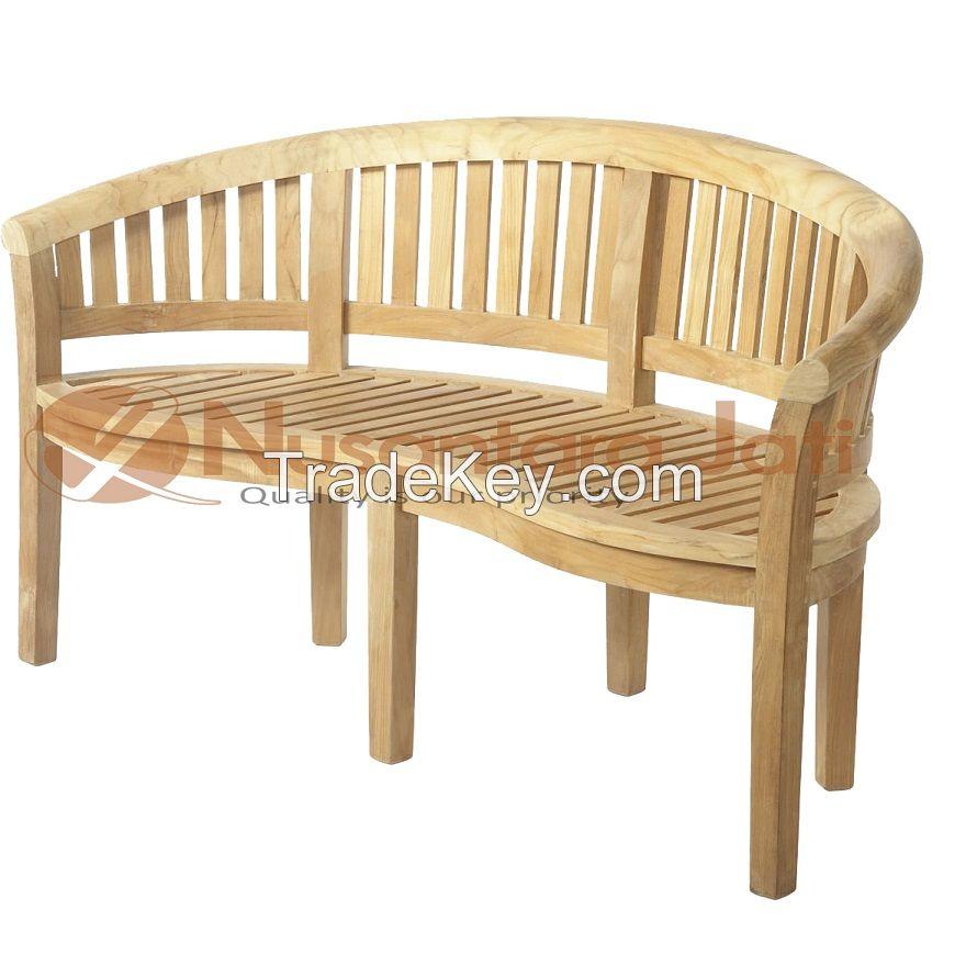 Teak Bench Outdoor Patio Furniture