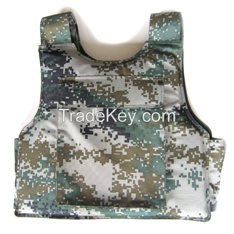 PE/KECLAR/ARAMID Military /Army MOLLE style Bullet-proof/Ballistic Camouflage Vest