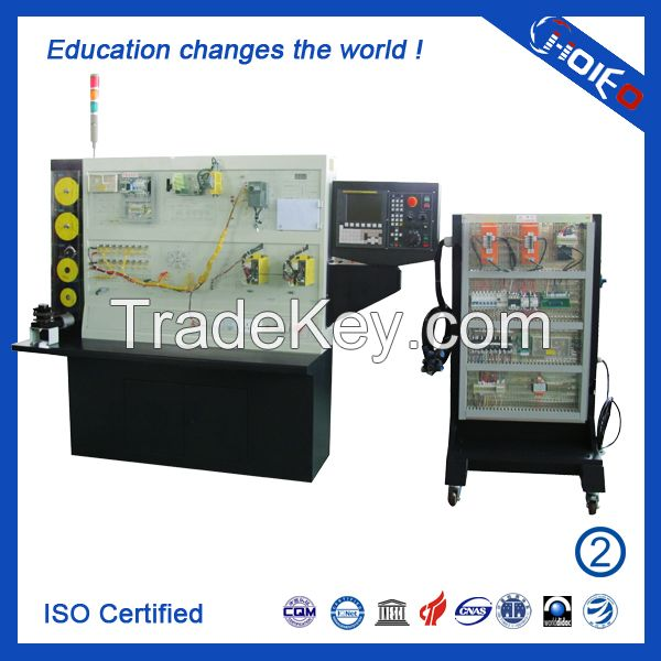 CNC Lathe Maintenance and Adjustment Experimental Training Device, cnc trainer for school lab, vocation educational equipment