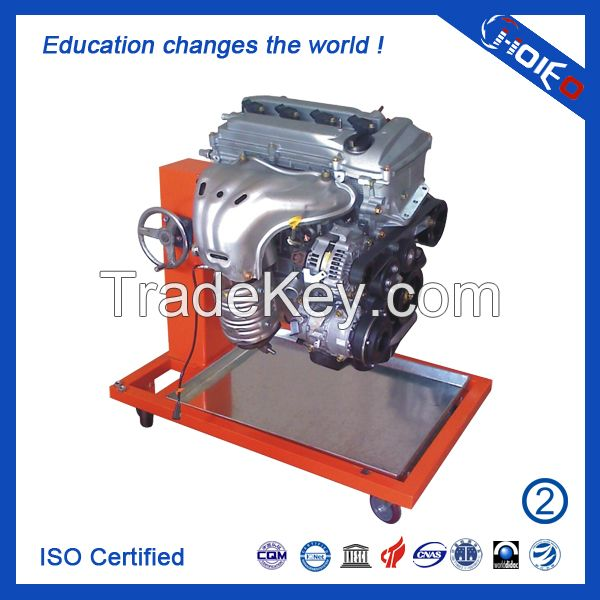 Corolla 1ZR Engine Trainer (Flip frame),engine training equipment,skill assessment model,vocation trainer device