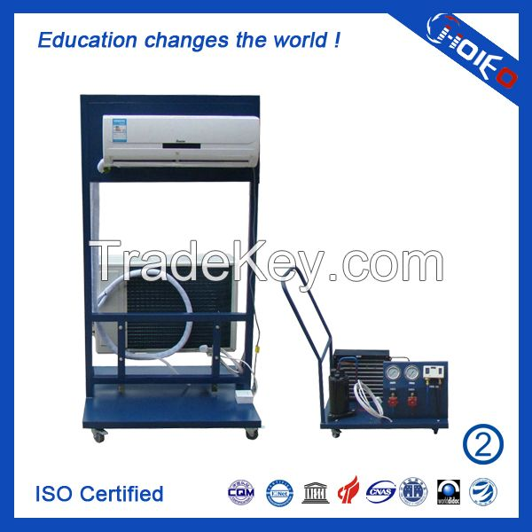 Air Conditioner Installation and Debugging Trainer,domestic items training equipment,refrigeration test equipment,vocation teach