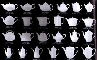 Bone China Pots