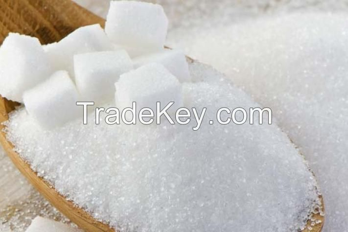 Buy White Granulated Sugar , Refined Sugar Icumsa 45 White sugar for sell