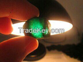 Rough Emeralds