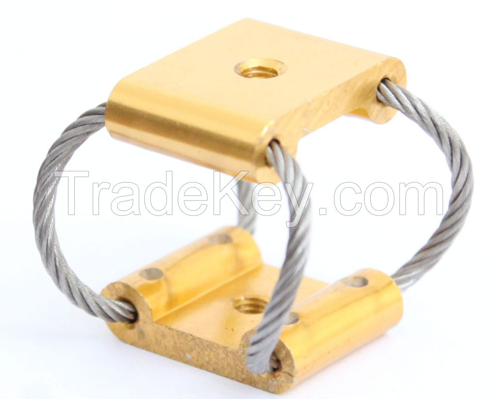 compact wire rope isolator