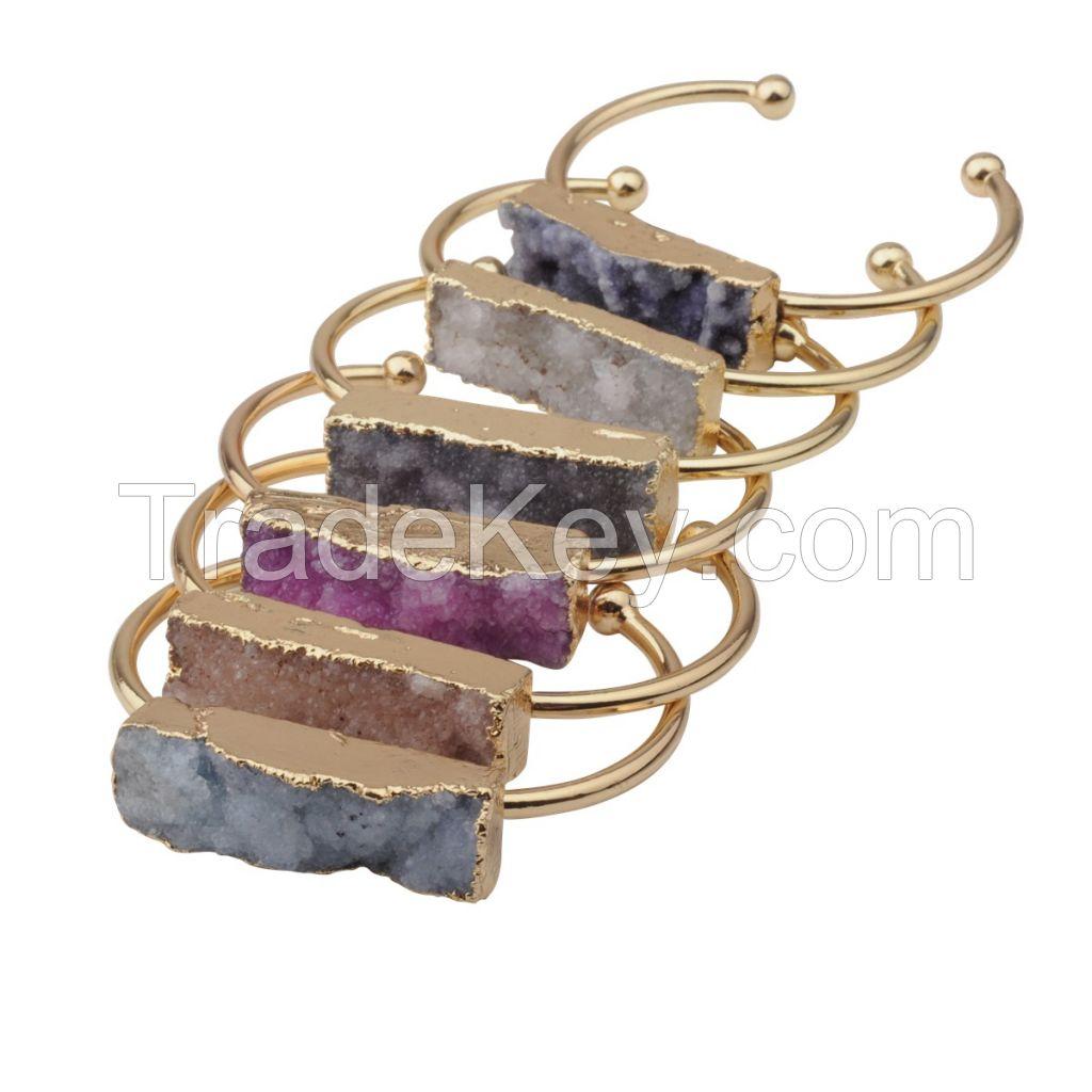 women cube crystal fashion bracelet chram bracelet new product 2016 bangle