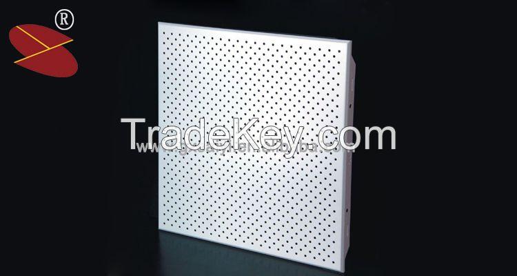 Clip in Acoustic Metal False Ceilings Grate Aluminum Ceiling Tiles