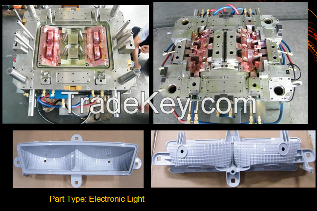 All kinds of custom plastic injection moulds