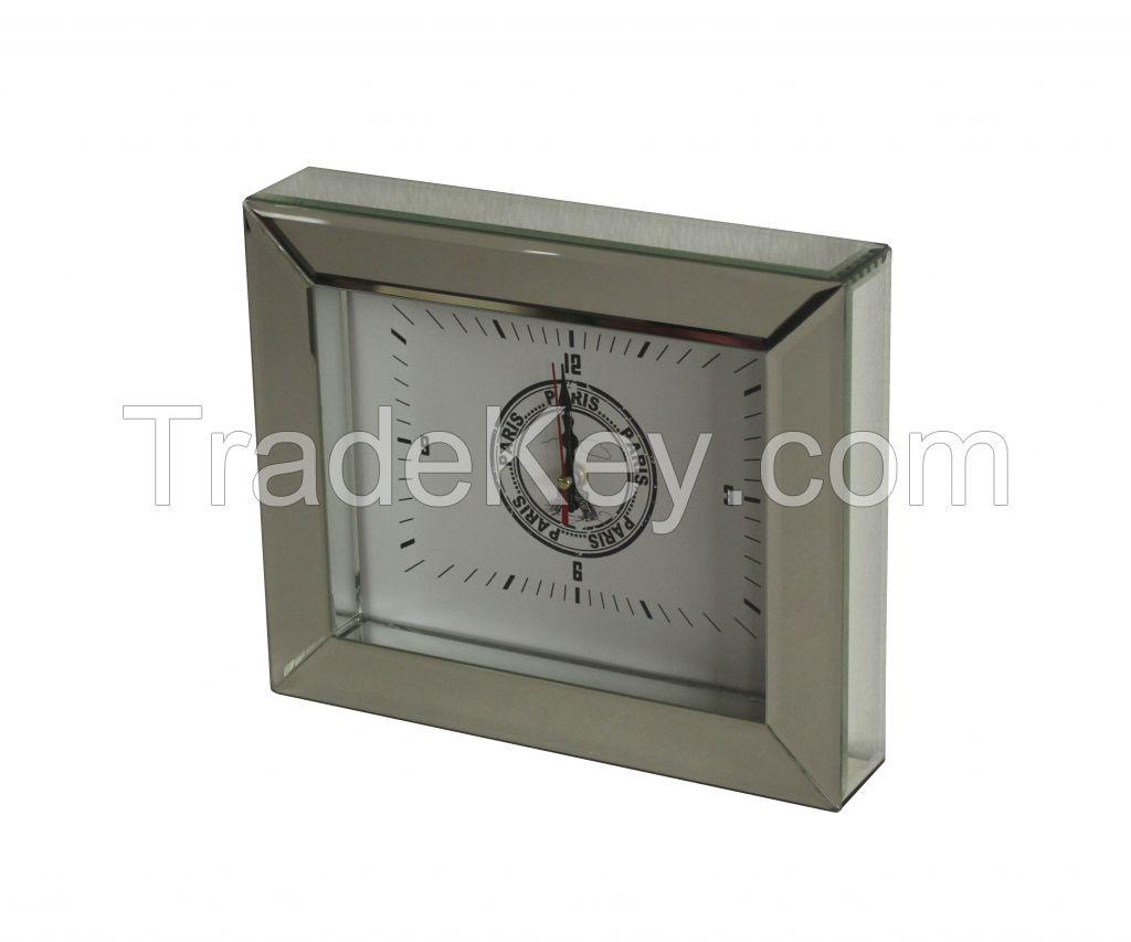 mirror decor clock wall clock