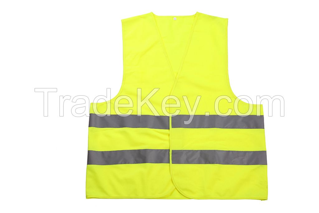 High Visibility Reflective Safety vest Hot Selling EN 20471/ ANSI/CSA certificate