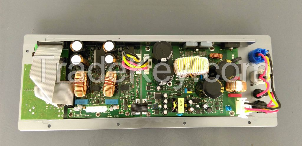 1 channel class D amplifier module with built-in 1in-2out DSP