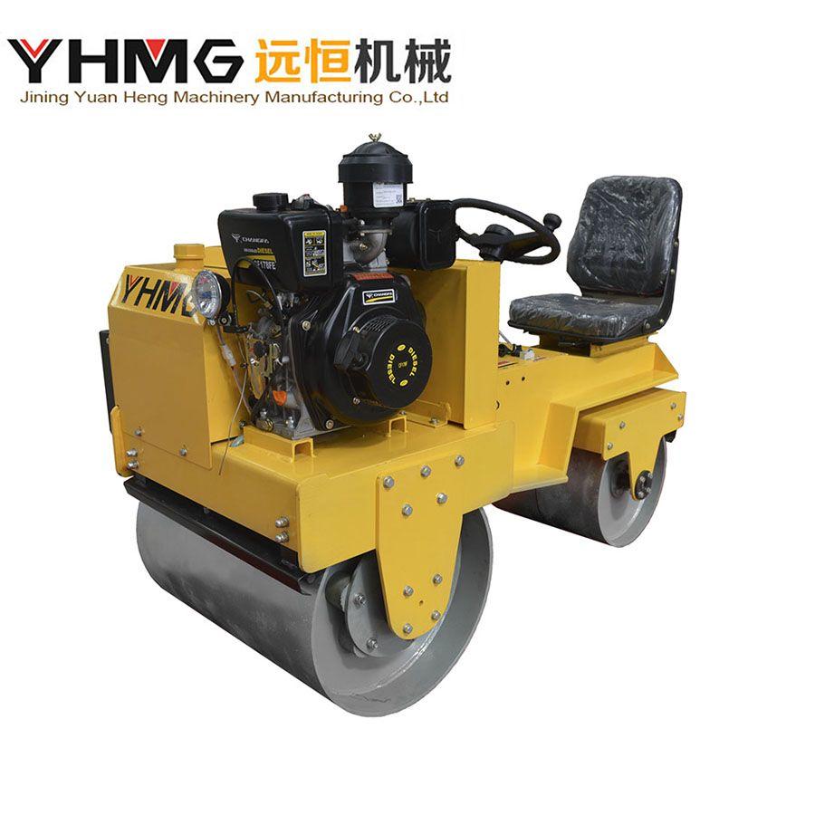 Double Drum Ride on Asphalt Roller Vibratory Road Roller Compactor