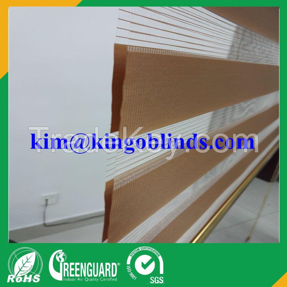 Kingo zebra blind fabric zebra roller blinds