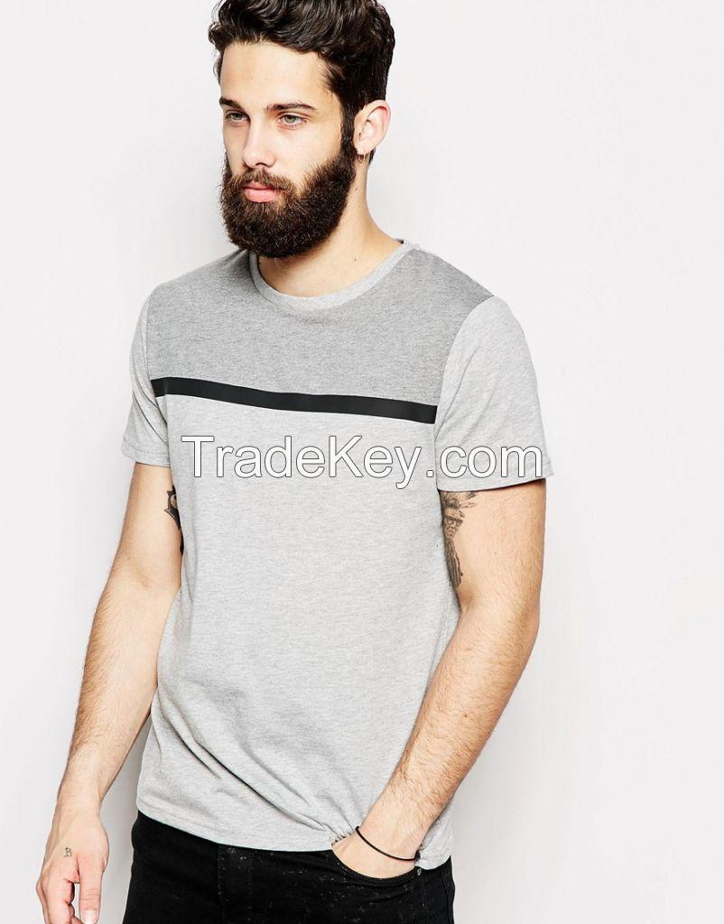 custom fashion men's soft cotton design t shirts
