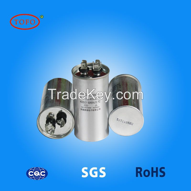 start facon capacitor CBB65 ac motor capacitor