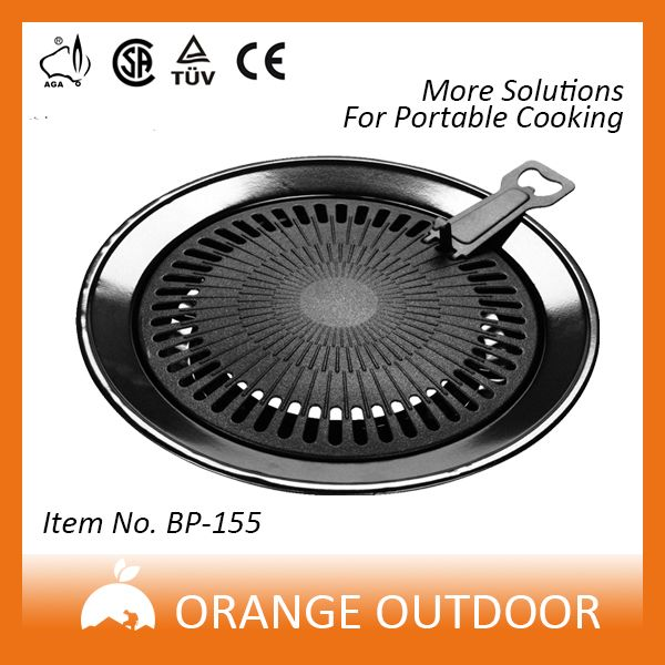 aluminium healthy cooking bbq grill plate for gas stove