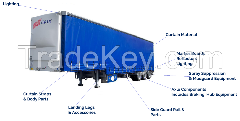 Trailer Parts for all trailers