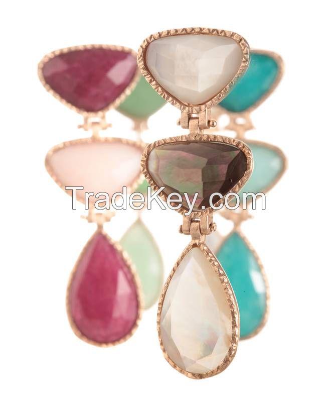 trangle earrings