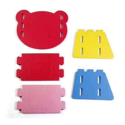 Meitoku Educational EVA Creative Chair, EVA Educational Toy, DIY EVA Baby Chair,Kid Safety Diy EVA Toy Chair