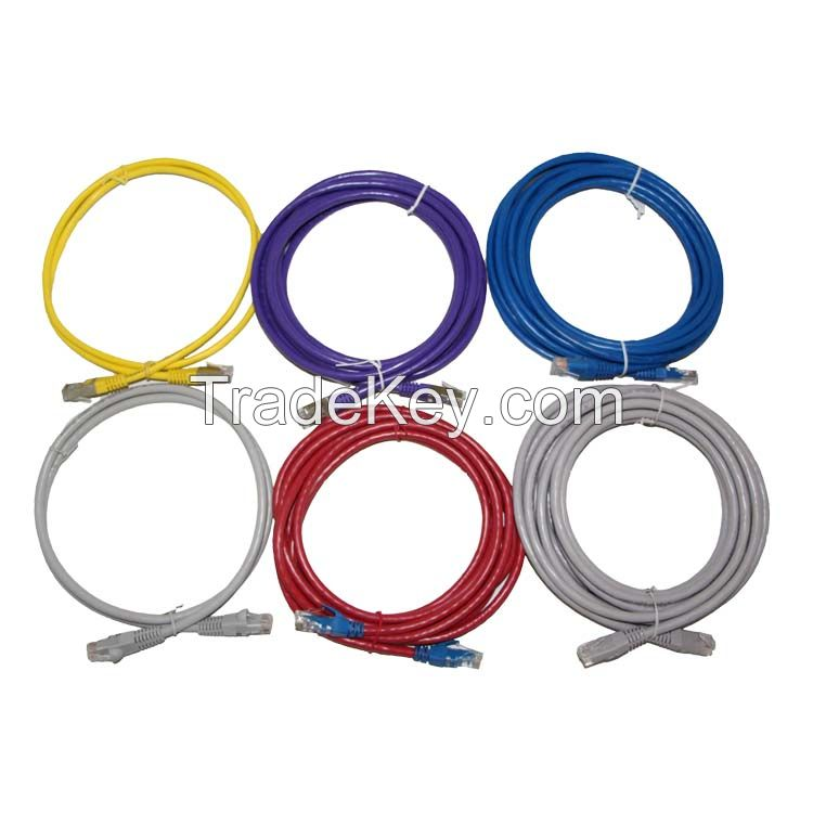 Best Price 26AWG multi-strand Pure Copper UTP CAT6 patch cable