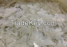 pet bottle flakes white