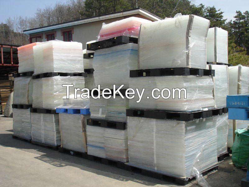 EPS Block Scrap / PVB Film Scrap / PU Foam Scrap