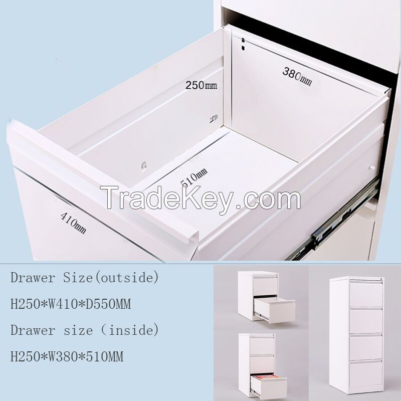 Steel storage filing cabinet