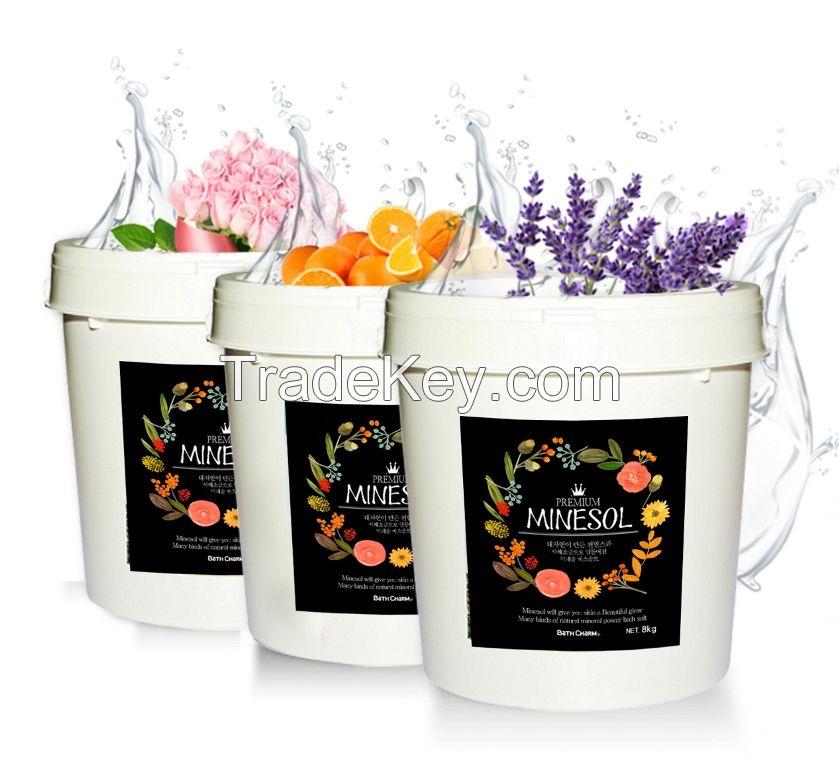 MINESOL (Made in Korea / Dead-Sea Salt Herbal Bath Powder)