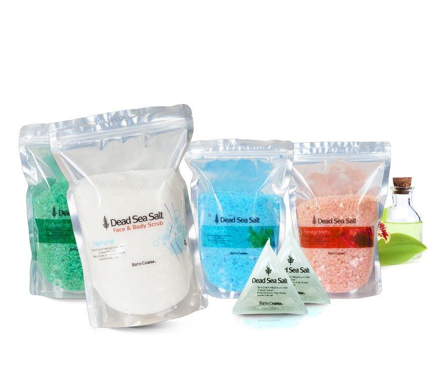Bath Charm (Made in Korea / Dead-Sea Salt Herbal Bath Powder)