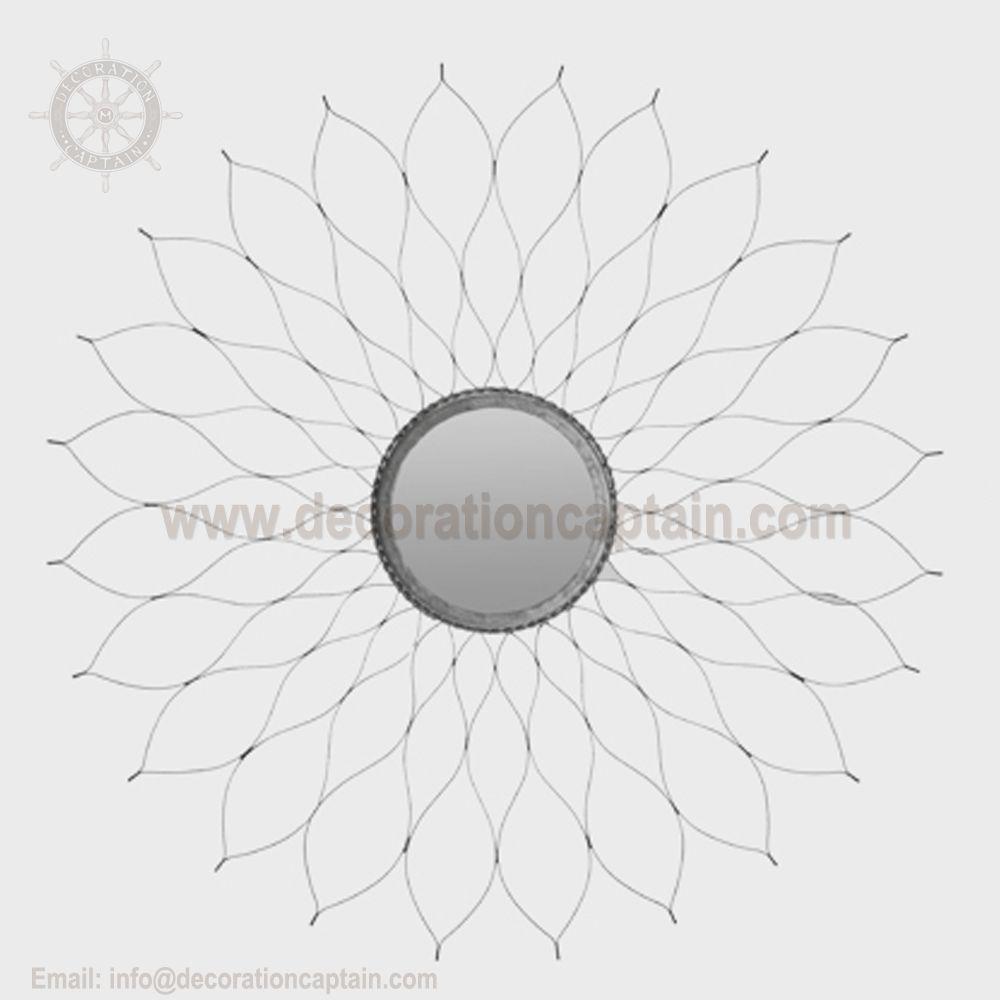 Large Mutli Rayed Sunburst Mirror Starburst Mirror Sunflower Mirror
