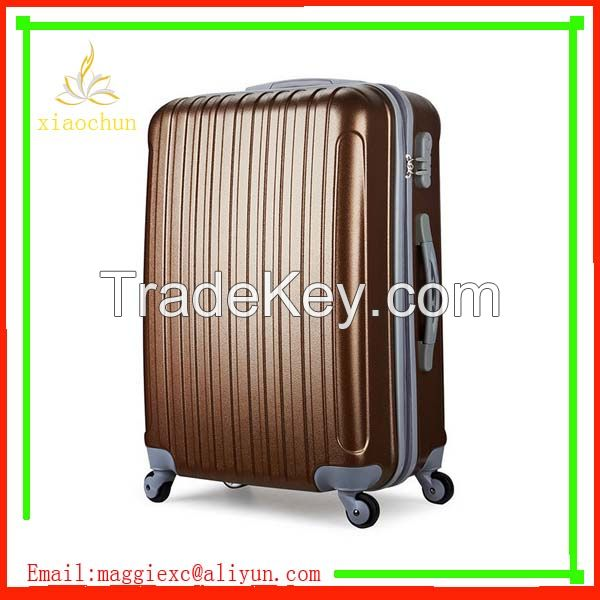4 wheels abs travel luggage bags trolley suitcase luggage set