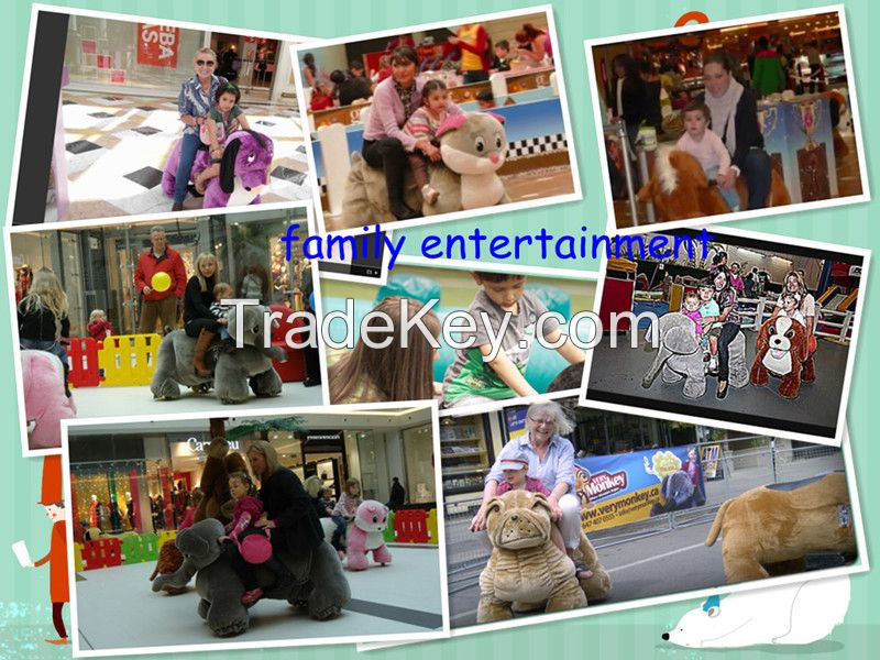 2016 Hot sale electronic walking animal ride hot in shopping mall