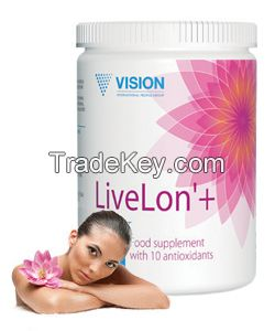 LiveLon - anti-aging complex, 10 of the most expensive and powerful natural antioxidant in the world of anti-aging