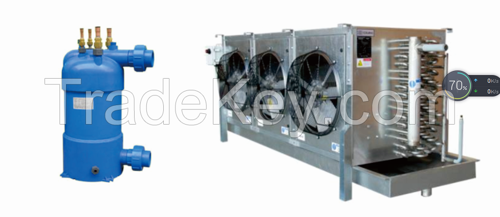 HE-Join 400 Bimetal Clad Titanium Copper transition joint for seawater source heat pump, heat exchangers, seawater desalination