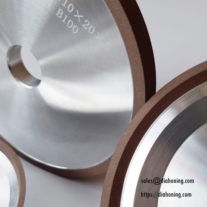 CBN and Diamond Grinding Wheels, Vitrified Bond Diamond Grinding Wheels