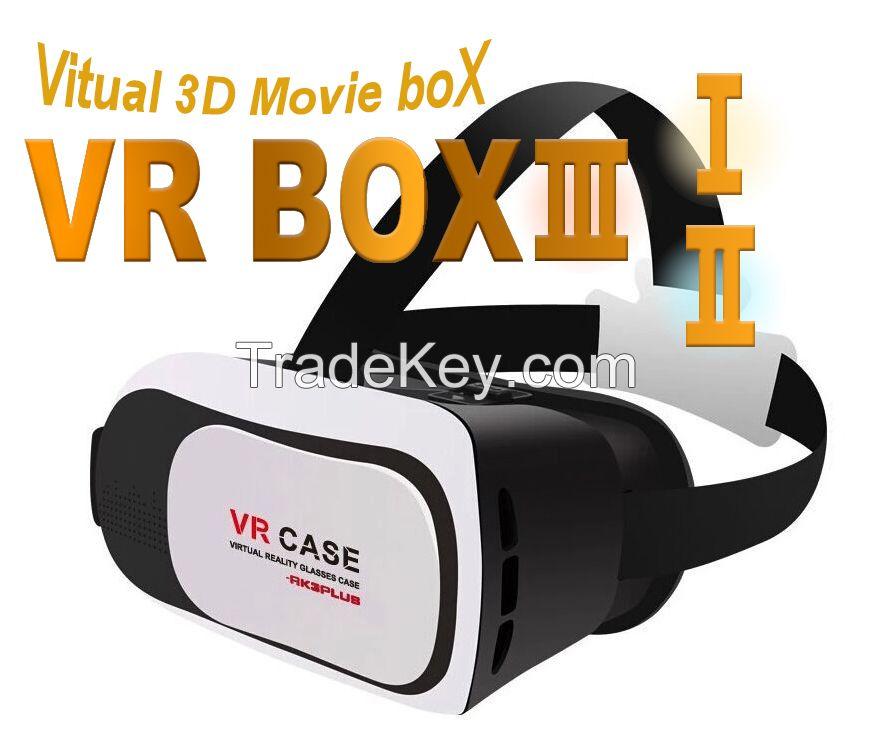 VR Box 3,Virtual Reality glass case,Virtual 3D Movie Box 3,VR Case 3,Portable TVs,3D Movie Box 3